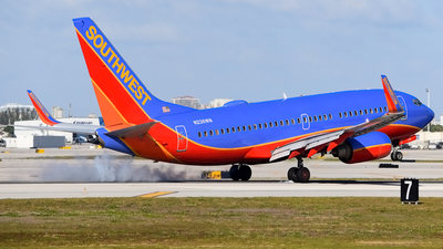 N236WN - Boeing 737-7H4 - Southwest Airlines