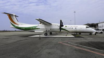 A picture of TUTSI - De Havilland Canada Dash 8400 - Air Cote d'Ivoire - © Mehdi CHEAIT0
