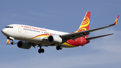 A picture of B1375 - Boeing 73784P - Hainan Airlines - © Alvinnn-Fang