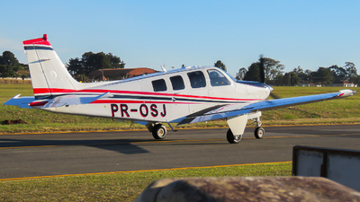 PR-OSJ - Beechcraft G36 Bonanza - Private