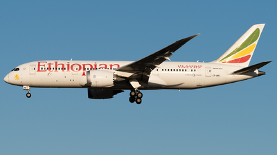 A picture of ETARE - Boeing 7878 Dreamliner - Ethiopian Airlines - © Calvin Chu