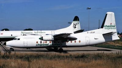 G-JEAP - Fokker F27-500F Friendship - Channel Express