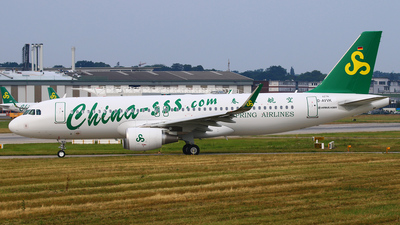 D-AVVK - Airbus A320-214 - Spring Airlines