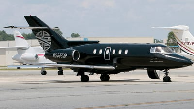 N955DP - Raytheon Hawker 800 - Private