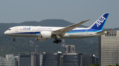 A picture of JA829A - Boeing 7878 Dreamliner - All Nippon Airways - © Yueh Cathay