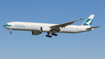 B-KQP - Boeing 777-367ER - Cathay Pacific Airways