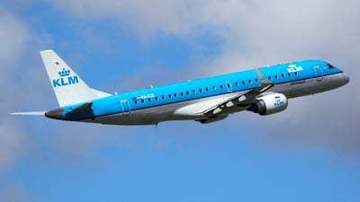 PH-EZE - Embraer 190-100STD - KLM Cityhopper