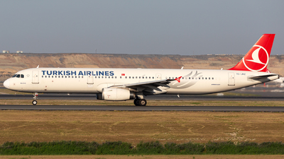 TC-JRZ - Airbus A321-231 - Turkish Airlines