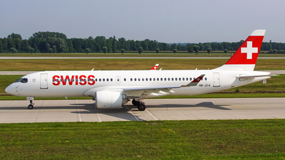 A picture of HBJCA - Airbus A220300 - Swiss - © Jan Eisenkolb