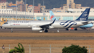 B-1837 - Airbus A321-231 - China Eastern Airlines
