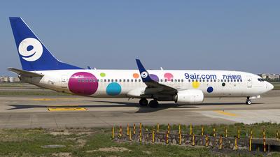 B-1719 - Boeing 737-8GP - 9Air