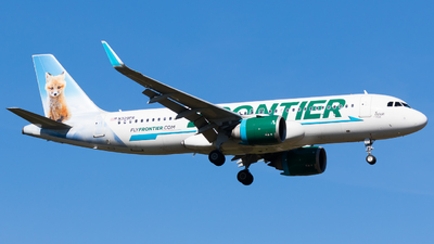 A picture of N329FR - Airbus A320251N - Frontier Airlines - © Martin Rogosz