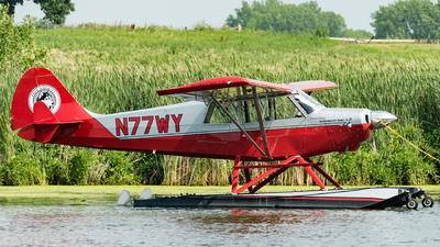 A picture of N77WY - Aviat A1B Husky - [2419] - © Andrew Lesty