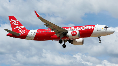 A picture of 9MAGR - Airbus A320251N - AirAsia - © Jack  Li