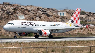 EC-NON - Airbus A320-216 - Volotea