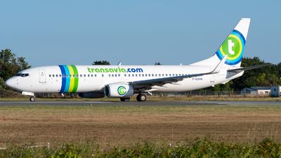 F-GZHB - Boeing 737-8GJ - Transavia France