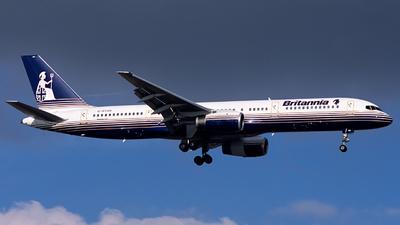 G-BYAR - Boeing 757-204 - Britannia Airways