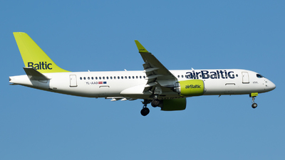 YL-AAO - Airbus A220-371 - Air Baltic