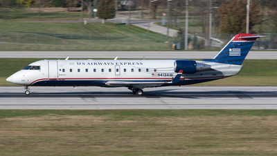 N413AW - Bombardier CRJ-200ER - US Airways Express (Air Wisconsin)