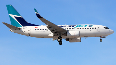 A picture of CGWJT - Boeing 7377CT - WestJet - © YoungKyun Shin