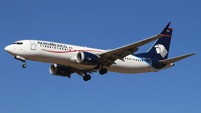 A picture of XAMAK - Boeing 737 MAX 8 - Aeromexico - © Alejandro Aceves