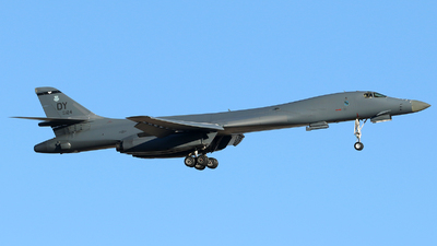 86-0124 - Rockwell B-1B Lancer - United States - US Air Force (USAF)