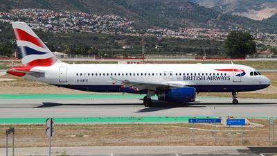 G-GATR - Airbus A320-232 - British Airways