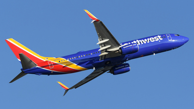 A picture of N8302F - Boeing 7378H4 - Southwest Airlines - © DJ Reed - OPShots Photo Team