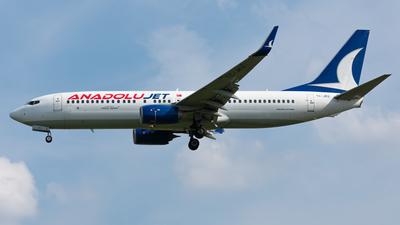 A picture of TCJKU - Boeing 7378Q8 - Turkish Airlines - © ebbrspotter