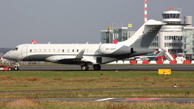 9H-SRT - Bombardier BD-700-1A10 Global Express XRS - Hyperion Aviation