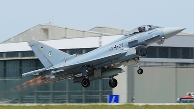 30-22 - Eurofighter Typhoon EF2000 - Germany - Air Force
