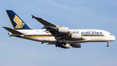 9V-SKT - Airbus A380-841 - Singapore Airlines