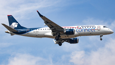 A picture of XAEAC - Embraer E190LR - Aeromexico Connect - © Israel Polanco