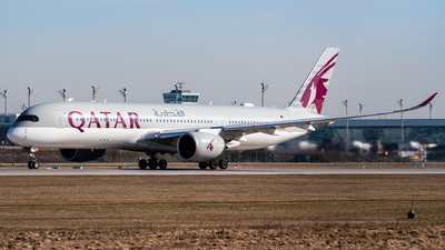 A picture of A7ALP - Airbus A350941 - Qatar Airways - © Markus Schwab