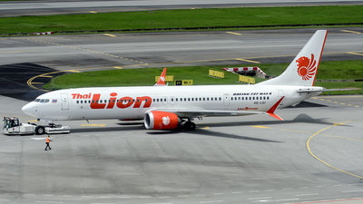 HS-LSI - Boeing 737-9 MAX - Thai Lion Air
