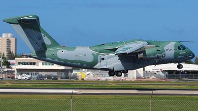 A picture of FAB2855 - Embraer KC390 -  - © Javier Caceres