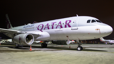 A7-MBK - Airbus A320-232(CJ) Prestige - Qatar - Amiri Flight