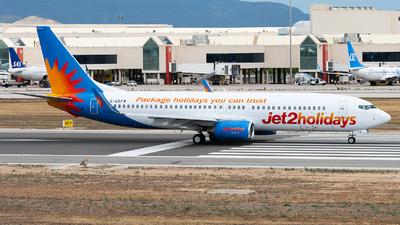 G-GDFW - Boeing 737-8K5 - Jet2.com