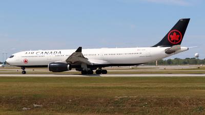 C-GEFA - Airbus A330-343 - Air Canada