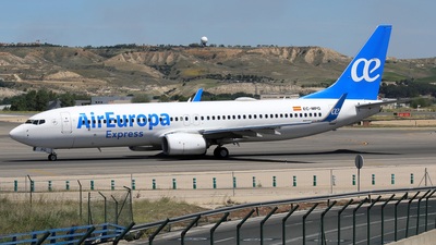 EC-MPG - Boeing 737-85P - Air Europa Express