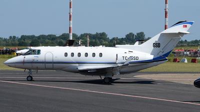 TC-GSD - Hawker Beechcraft 900XP - Private