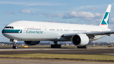 B-KQR - Boeing 777-367ER - Cathay Pacific Airways