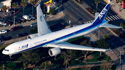 A picture of JA790A - Boeing 777381(ER) - All Nippon Airways - © Derek MacPherson