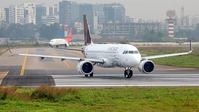 VT-TNW - Airbus A320-251N - Vistara