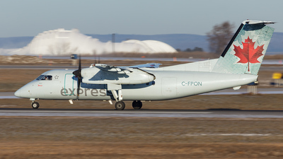 C-FPON - Bombardier Dash 8-102 - Air Canada Express (Jazz Aviation)