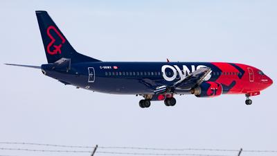 A picture of CGGWV - Boeing 7374Y0 - Nolinor Aviation - © Hongyu Wang