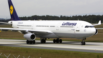 D-AIGF - Airbus A340-311 - Lufthansa