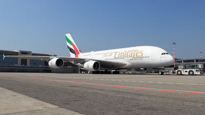 A6-EUL - Airbus A380-861 - Emirates
