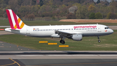 D-AIPX - Airbus A320-211 - Germanwings