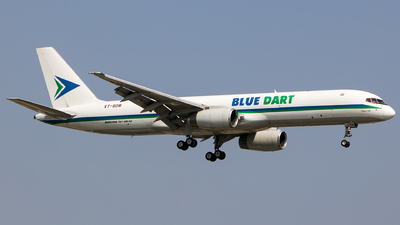 A picture of VTBDM - Boeing 75723N(PCF) - Blue Dart Aviation - © Aneesh Bapaye